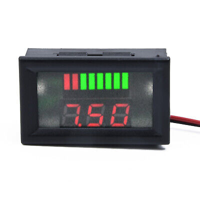 Accurate 12V LED Panel Digital Voltage Volt Meter Gauge Display Voltmeter Tool