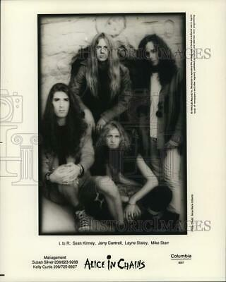 Alice In Chains Group Poster 24x36