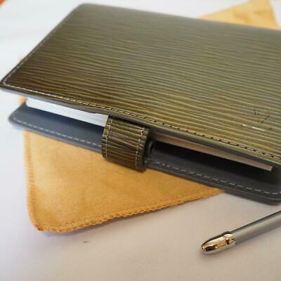 Louis Vuitton Cyber Epi M99080 Day Meets Night Agenda Pm Note Book Cover