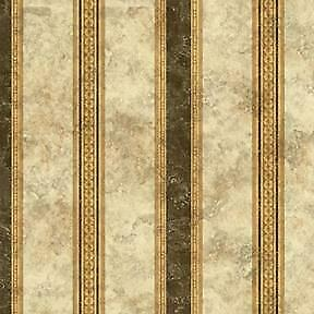 2576 MEDALLION PANEL PAPER GOLD W//GREEN DOLLHOUSE WALLPAPER 1:12 SCALE