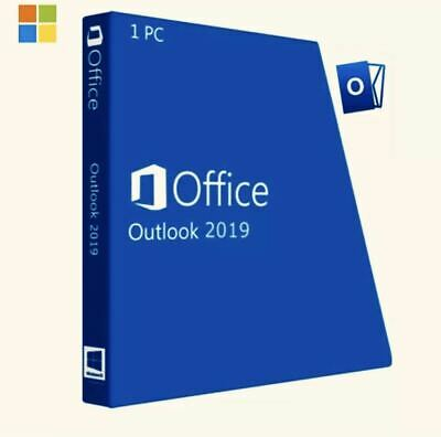 Microsoft Outlook 2019 For Windows Retail On USB - 1 PC Only