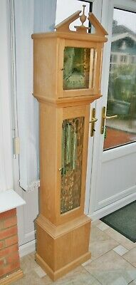 "Vintage Paul Eden of Llanbedr ""Caernarvon"" Grandmother Clock with Urgos Movement"
