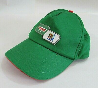 Old 2010 FIFA South Africa Castrol Green Cotton Ball Cap Trucker Hat FREE S/H