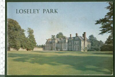 LOSELEY PARK Guildford, Surrey guidebook 1974 country house