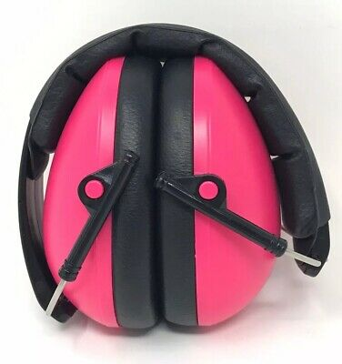 Baby Banz Mini Noise Earmuffs For Children 3 Months Old And Up - Pink - EUC!