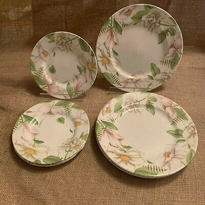 Royal Stafford Fine Earthenware Poetry 4 Dinner Plates or 4 Salad Plates Choice