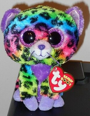 "NEW w// MINT TAGS  Justice Exclusive TRIXIE the Leopard Ty 6 /"" Beanie Boos"