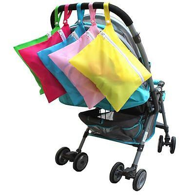 Baby Dirty Cloth Diaper Nappy Waterproof Stroller Pram Organizer Storage Bags CO