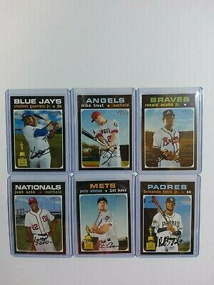 2020 Topps Heritage SPs (400-500) pick your card-Complete your set -Trout Acuna