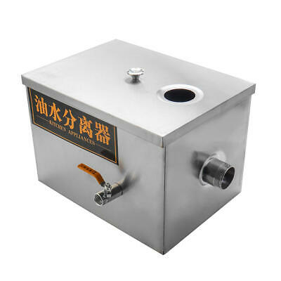 Commercial Grease Trap Interceptor Stainless Steel Interceptor Grease Trap Tools
