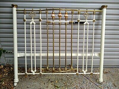 Brass double bed gen 100 years approx PickUp Only