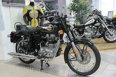 New Royal Enfield Bullet In Forest Green