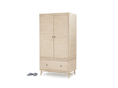 NEW Loaf Prime Groover Wardrobe Oak Mid Century RRP £1395 New Other