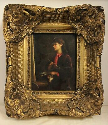 Carvers & Gilders-Picture Makers And Restorers / Dipinto A Oleografia / Pittrice