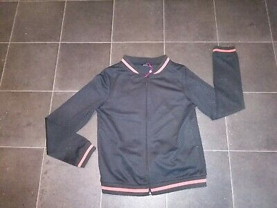 Girls Kylie black tracksuit top aged 13 years new without tags