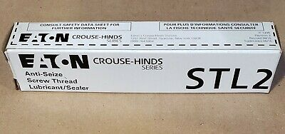 STL 2 EATON CROUSE-HINDS ANTI-SEIZE SCREW THREAD LUBRICANT/SEALER (am-1-5-3)