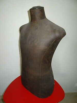 ancien BUSTE mannequin HOMME STOCKMAN SIEGEL couture taille 48 mode fashion