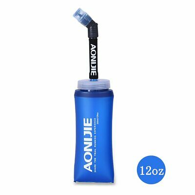 AONIJIE TPU Folding Soft Flask SportS Water Bottle for Running Camping HiN/_sh
