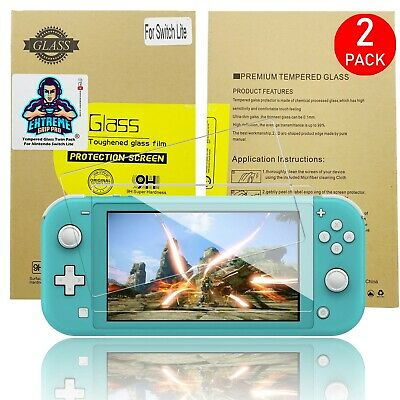 ExtremeGripPro Tempered Glass Screen Protector For Nintendo Switch LITE 2 PACK