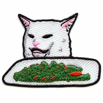 Embroidered What About Blob Homely Blobfish Meme Funny Patch Iron On Sew On USA
