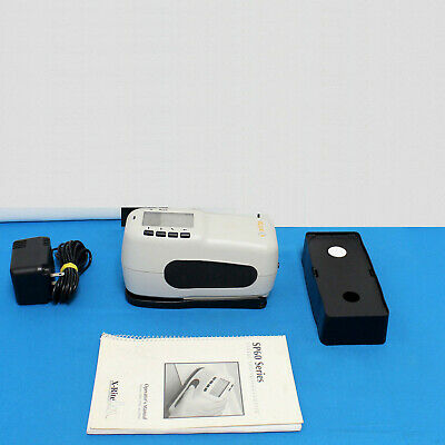 X-Rite SP64 Portable Sphere Spectrophotometer Lab values for print fabric & more