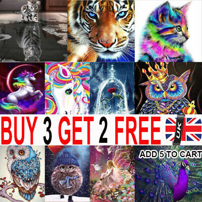 UK 5D Diamond Painting Embroidery Cross Craft Stitch Pictures Arts Kit Decor YY