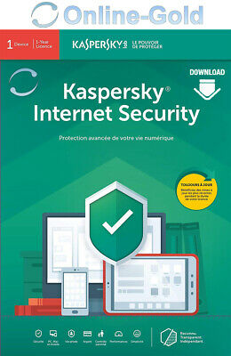 Kaspersky Internet Security 2020 10 PC 1 Year - 10 Utilisateurs / 1 An - FR / UE
