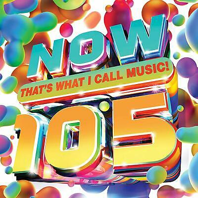 NOW THAT'S WHAT I CALL MUSIC! 105 2-CD (New Release May 5th 2020) - PRE-ORDER