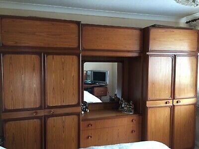 G Plan Retro Teak Wardrobe Set