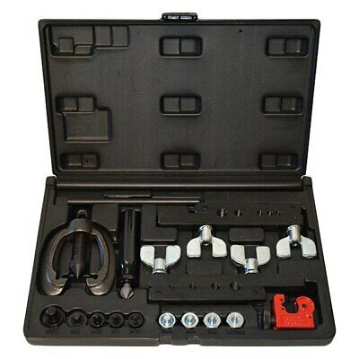 """Cal-Van Tools 3/16"""" to 1/2"""" Double & Bubble Flaring tool Kit"""