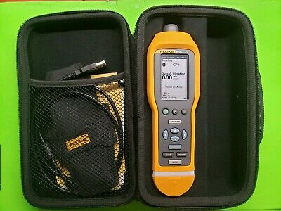 Fluke 805 Vibration Meter Large High Resolution Screen. Used.