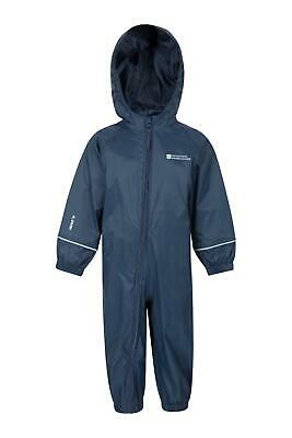 Mountain Warehouse Kids Rain Suit Waterproof Taped Seams & Elasticated Cuffs