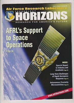 Technology Horizons Mag AFRL's Support To Space December 2003 021920nonr