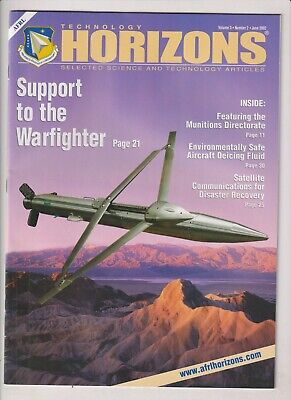Technology Horizons Support The Warfighter June 2002 021920nonr