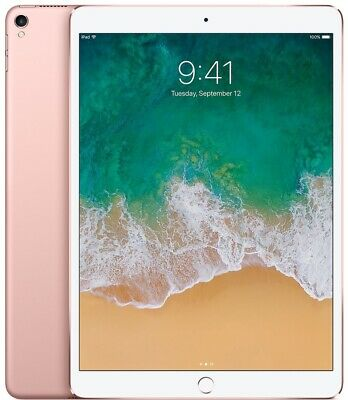 Apple iPad Pro 2nd Generation (2017). 64GB, Wi-Fi, 10.5in - Rose Gold *NEW*