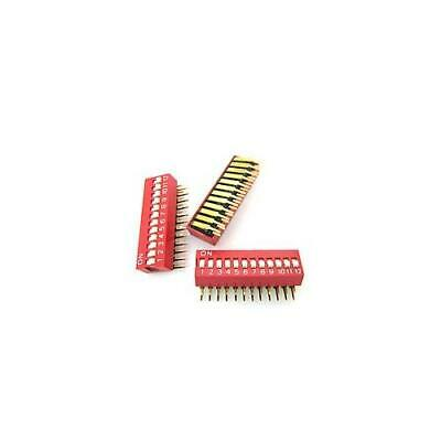[10pcs] DA-12-DIP DIP Switch 12 Position THT DIPRONICS
