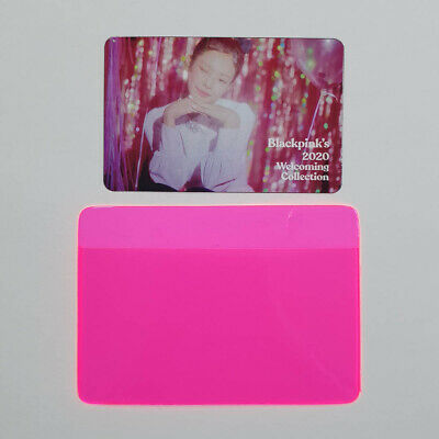 Jennie Official Clear Photocard BlackPink 2020 Welcoming Collection Kpop Genuine