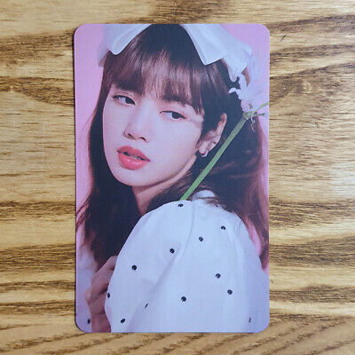 Lisa Official Photocard BlackPink 2020 Welcoming Collection Ktown4u