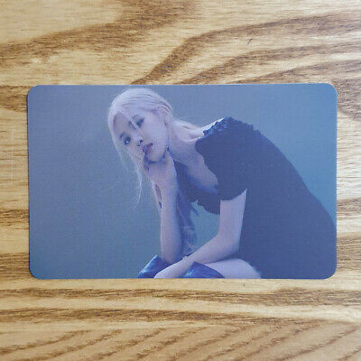 Rose Official Photocard BlackPink 2020 Welcoming Collection Ktown4u Kpop