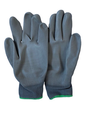 Palm Glove PU Dipped Hand Protection x 3 pairs