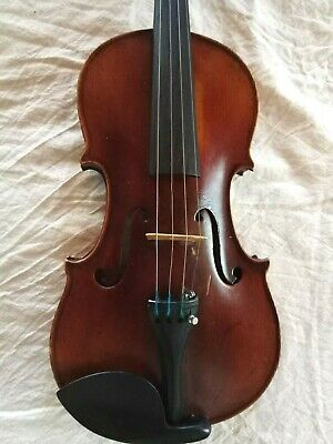 French violin 4/4 by Jerome Thibouville-Lamy  stamped internally D and star
