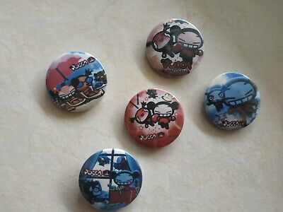 Pucca club pin, 5x pins
