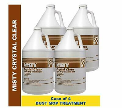 Misty Crystal Clear Dust Mop Treatment 1 Gal 1003411 (Case of 4) Dust Magnet