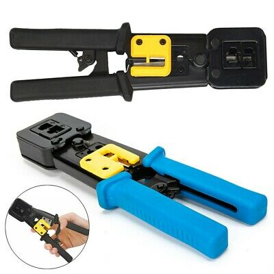 Electrical Cable Wire Stripper Ratchet Crimper Crimping Tool Plier Cutter UK HOT