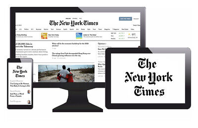 The New York Times   3 Year Digital Subscription    NYTimes (All Digital Access)