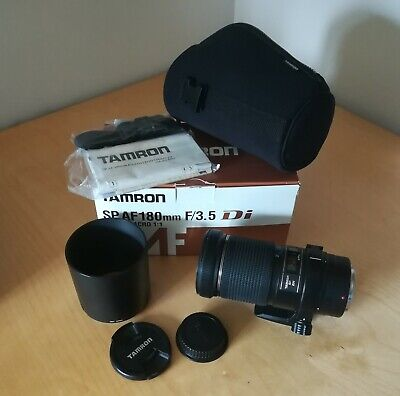 Tamron SP AF 180mm F3.5 Di Ld If Macro pour Canon