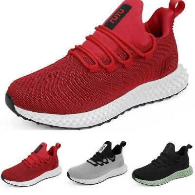 Mens Running Sneakers Jogging Shoes Athletic Breathable Sports Big Size chic ryt