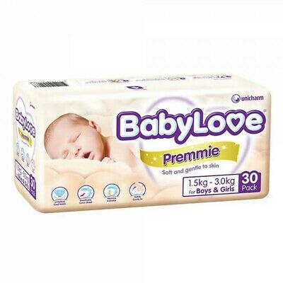 Babylove Premmie Nappy - 30 Pack Carton4
