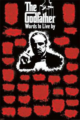 The Godfather Words to Live By BrandNew Cool Wall Decor Art Print Poster 24x36
