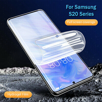 2X Hydrogel PET Film Screen Protector For Samsung Galaxy S20 S20 Ultra S20 PLUS